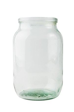 empty glass jar photo