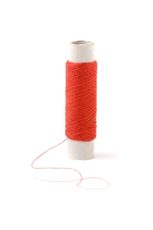 threaded: Spool of Red Thread