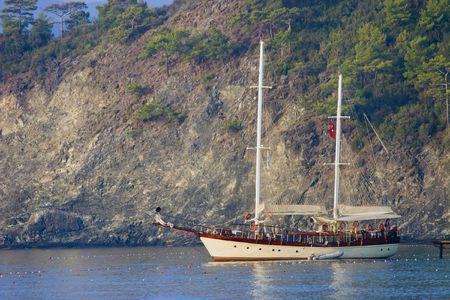 Large luxury yacht Stock Photo - 6036555