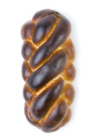 shabbat: A loaf of challah bread for shabbat