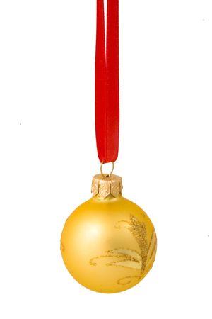 vacance: Capodanno palla isolato a prua Archivio Fotografico