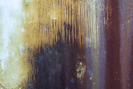 Abstract rusty grunge metal frame background Stock Photo - 6036392