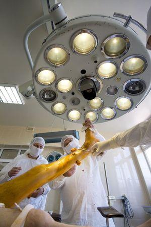surgeons team at work Stock Photo - 6037461