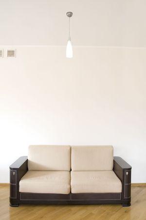 classic sofa on the wooden floor Stock Photo - 6037232