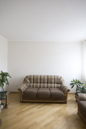 moden luxury interior - hall with the sofa Stock Photo - 6037337
