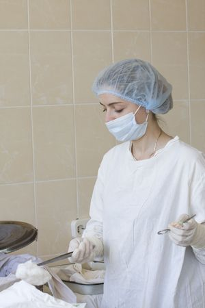 operante: Ritratto di infermiera operativa