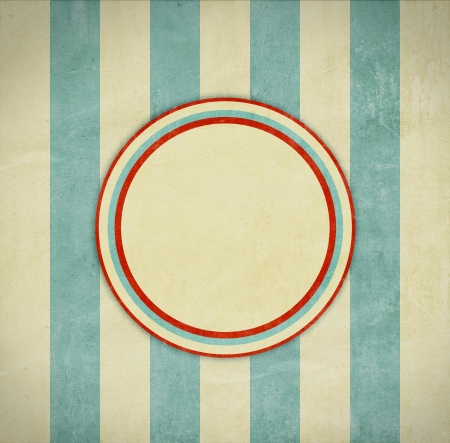 retro background with circles photo