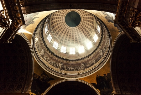 kazanskiy: dome of the Kazan Cathedral in Saint-Petersburg Editorial