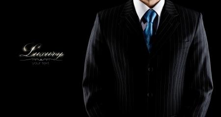 businessman in a luxury suit  Stock fotó