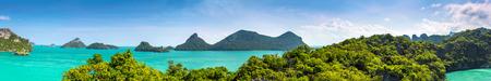 Thaïlande paysage panorama Banque d'images