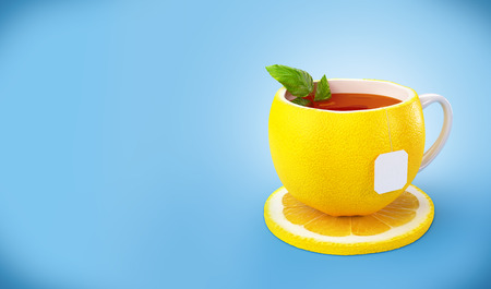 Lemon tea ���  Healthy food  Lemon drink