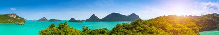 Thailand landscape panorama  Nature panorama  Reklamní fotografie