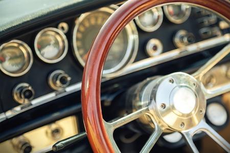 Interior photo of the American classic car photo