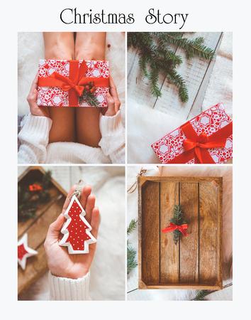 wonderfull: wonderfull christmas postcard