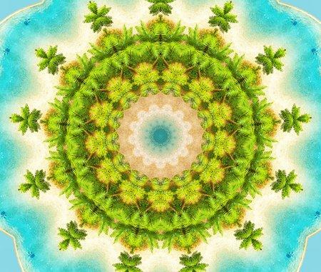 kaleidoscope: Abstract kaleidoscope background.