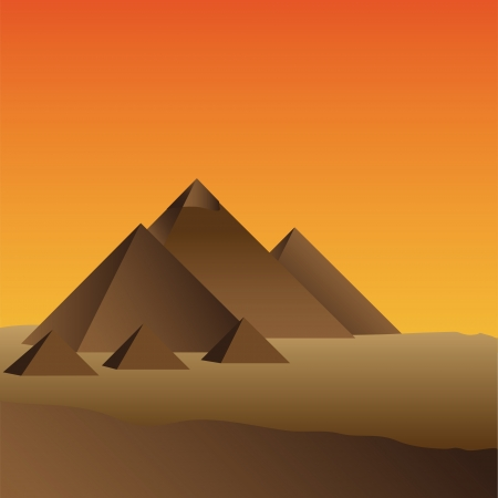 pyramide egypte: Pyramide en Egypte