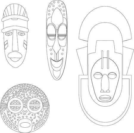 polynesian ethnicity: African Cultural Masks