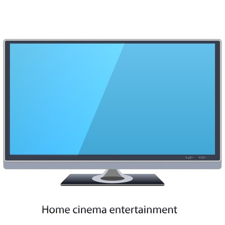 Vector led widescreen tv for home cinema