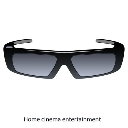 Vector 3D polarized glasses with modern design