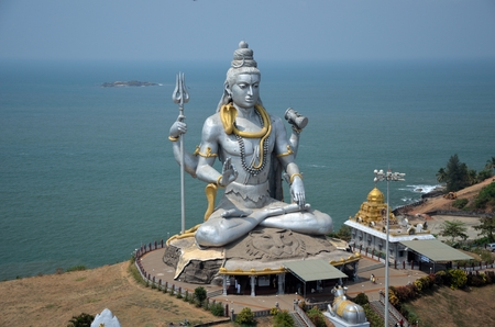 karnataka: Hindu temple of Lord Shiva called Murdeshvar
