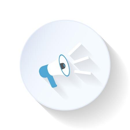 mouthpiece: Mouthpiece flat icon vector graphic illustration design
