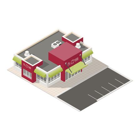 electronics store: