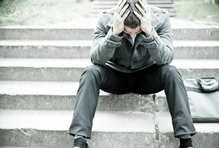 homme triste: