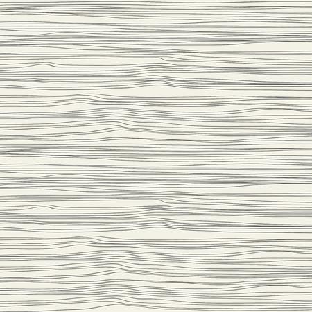 Een naadloze textuur met horizontale golven. Vector illustratie.