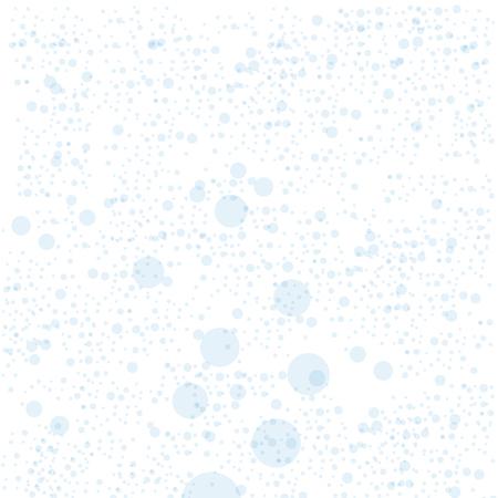 원활한 파란색 거품 패턴입니다. 벡터 일러스트 레이 션