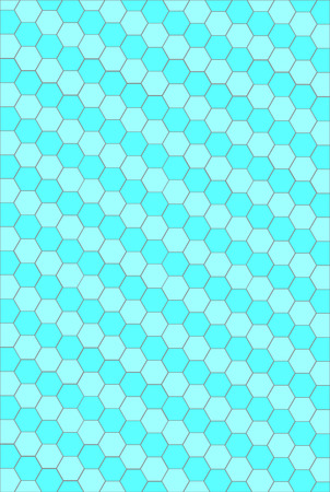 Modern seamless geometry pattern hexagon. Vector illustration
