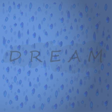 Azul 3D gotas de agua con letras. Ilustración de patrones sin fisuras Foto de archivo - 81949077