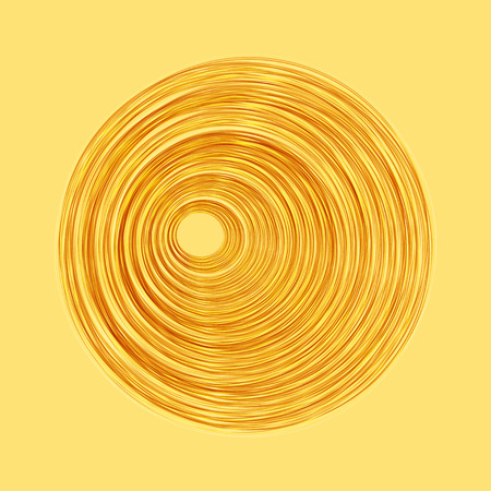 Spiral concentric lines. Abstract vector illustration