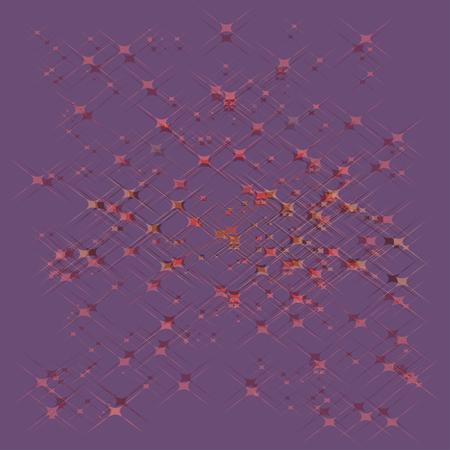 光沢のある星空の背景。ベクトル図