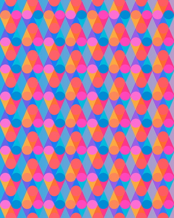 Abstract optical circle pattern background. Vector illustration Illustration