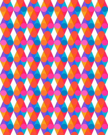 Abstract optical colorful pattern background. Vector illustration Illustration