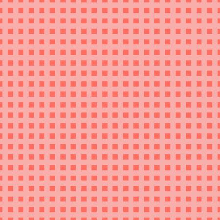 Little pink square pattern. Vector illustration