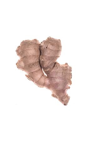 Ginger isolated over white background Stock Photo