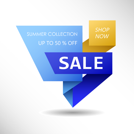 Up to 50 % off Sale. Discount offer price sign. Special offer symbol. Summer collection sale Фото со стока - 130059534