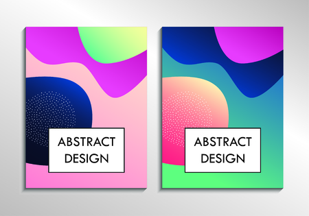 Leaflet cover presentation abstract background, layout Foto de archivo - 130059545