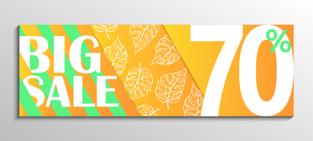 Up to 70% off Big Sale. Leaf pattern background