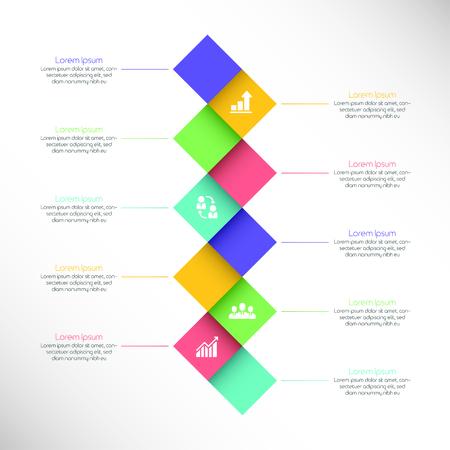 Steps to startup success. Vector illustration for corporate website, presentation, brochure, report