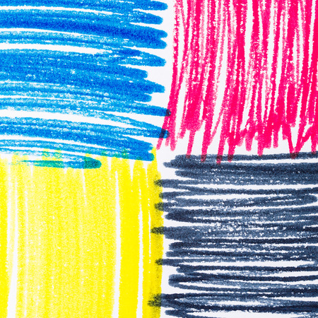 offset printer: Pastels, print CMYK on paper photographed close-up background