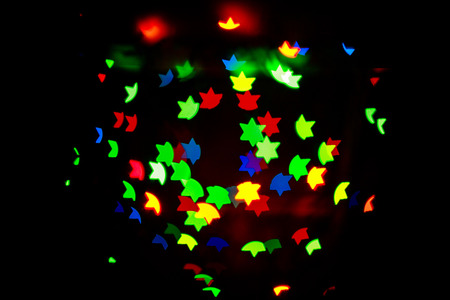 Abstract colorful background for the Jewish holidays shot closeup photo
