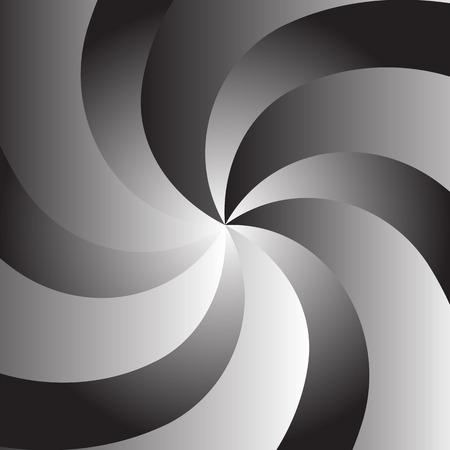 의식: Simple vector background in the form of color twisted spiral converging to the center
