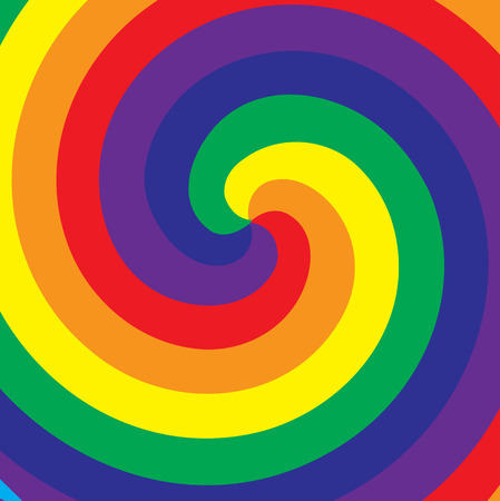 pace: Rainbow symbol of same-sex relationships and free love