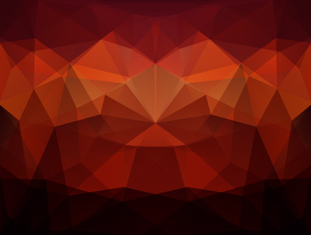 Abstract colorful vector background of the set of triangles