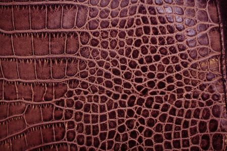 genuine leather: Toned genuine leather texture shot close-up