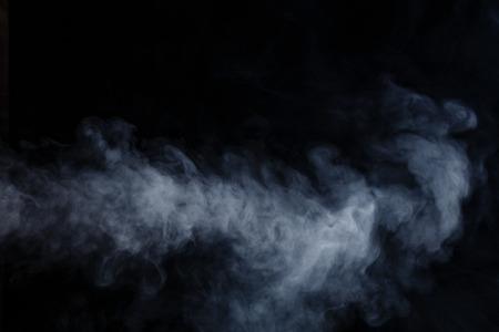 smoke: Humo movimientos abstractos en un fondo negro