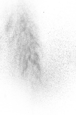 spraypaint: Spray paint on a white background paper