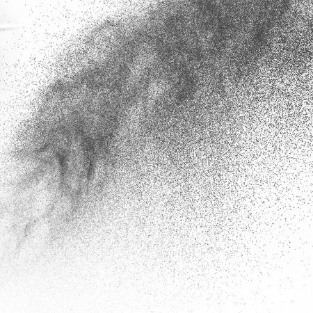 Spray paint on a white background paper Banco de Imagens - 35982479